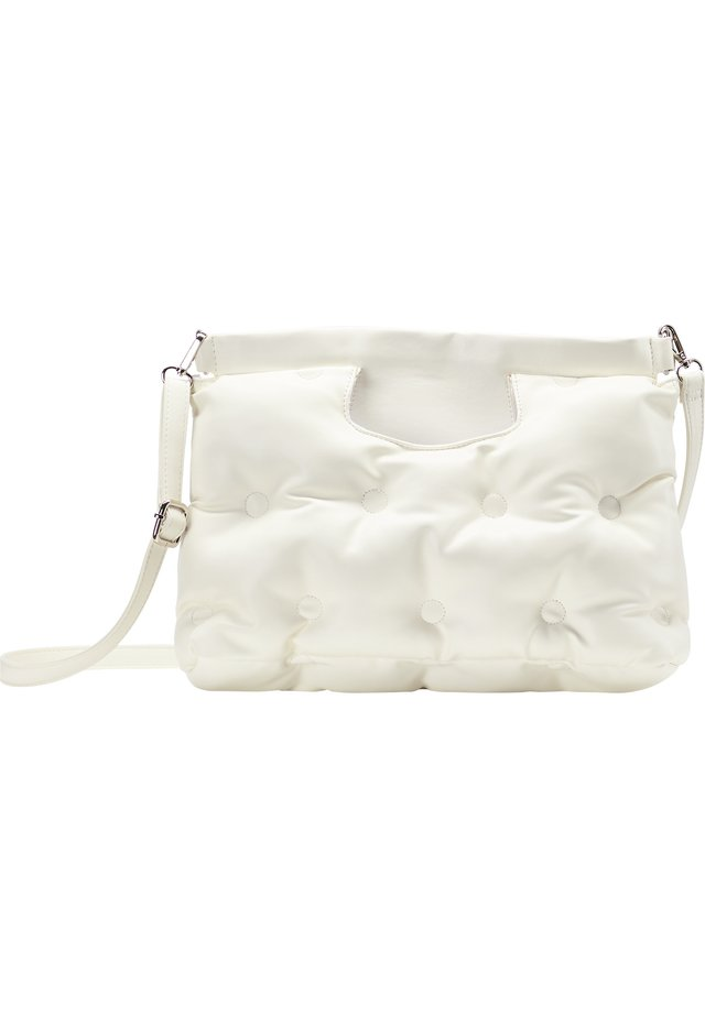QUILTED BAG - Handtasche - white