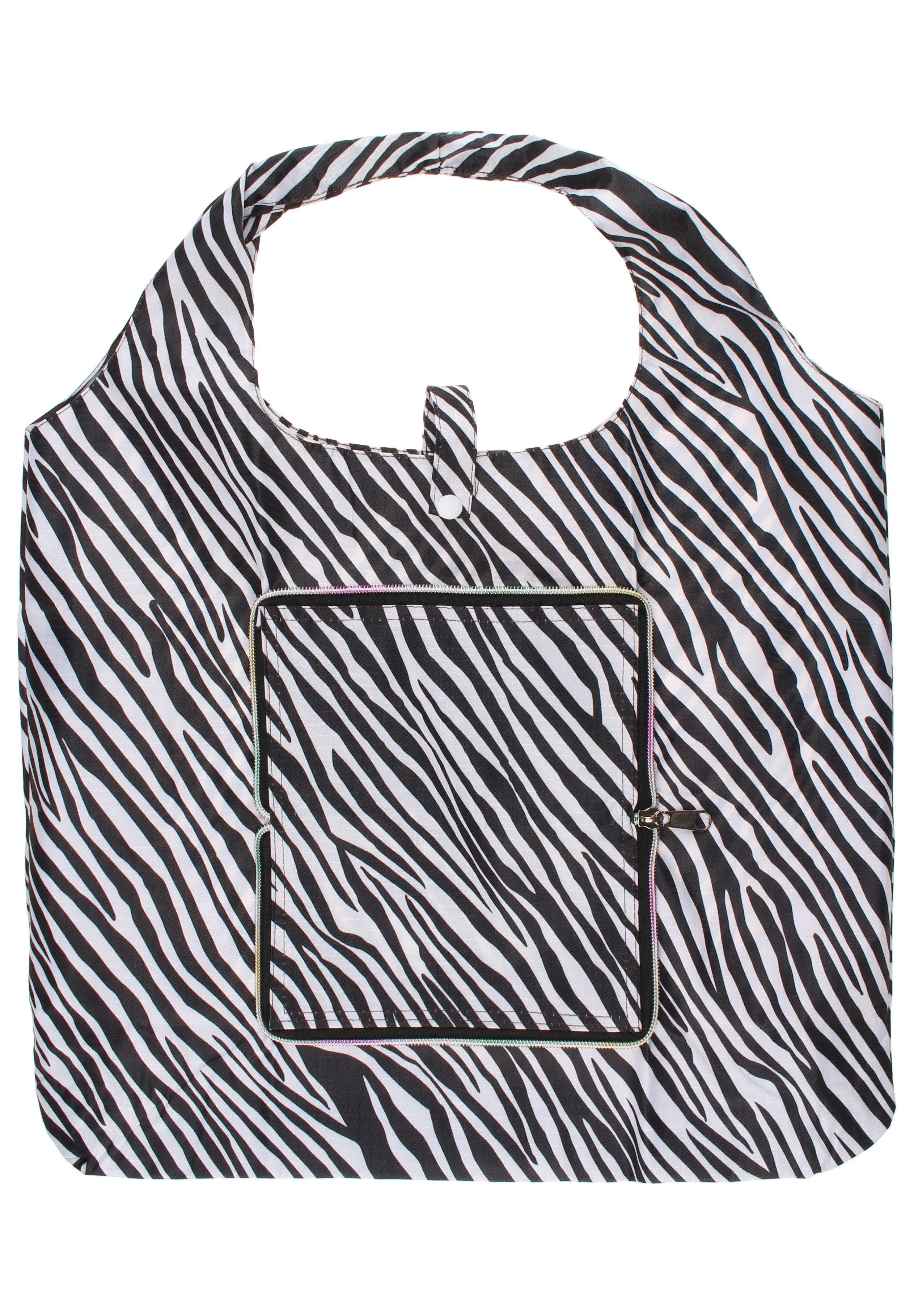 Mymo Accessories B0n21e07a-a11 - Torba Na Zakupy Zebra