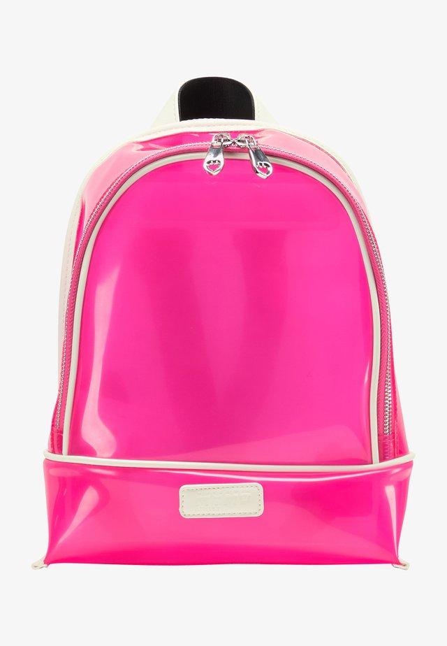 Tagesrucksack - neon pink