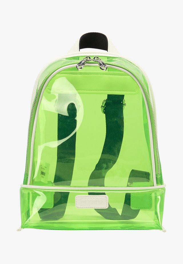 Tagesrucksack - neon green