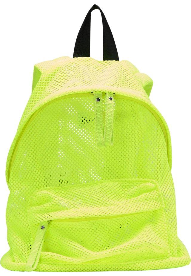 RUCKSACK - Rucksack - neon grün