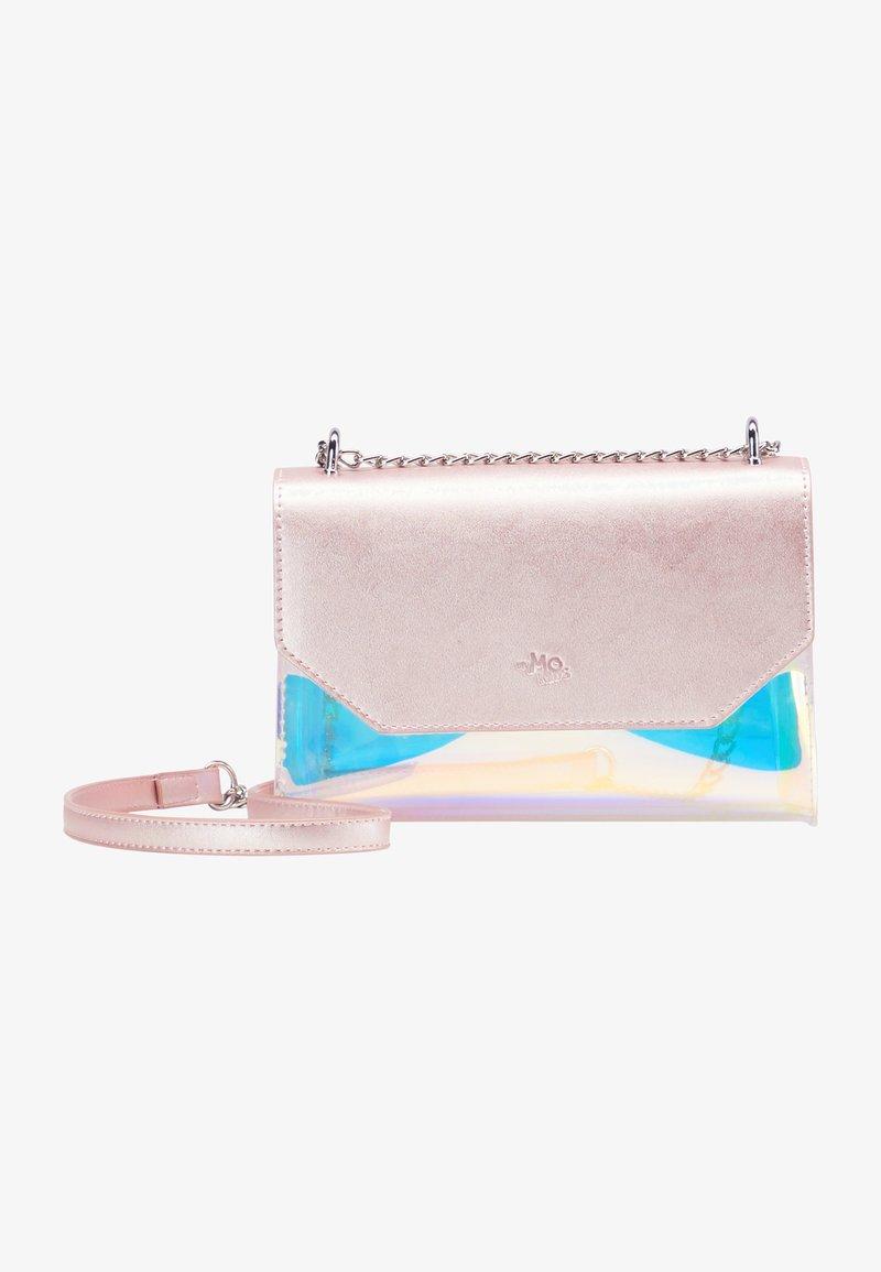 myMo - Across body bag - pink holo