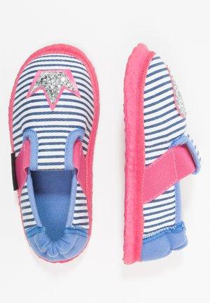 HERZKLOPFEN - Domácí obuv - blau