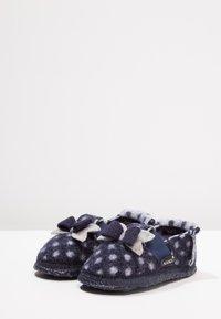 Nanga - LITTLE DOTTY - Domácí obuv - dunkelblau - 3