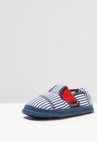 Nanga - SANDBURG - Domácí obuv - dunkelblau - 2