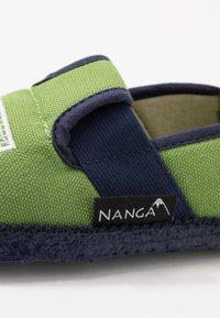 Nanga - GOLIATOR - Domácí obuv - grün - 2