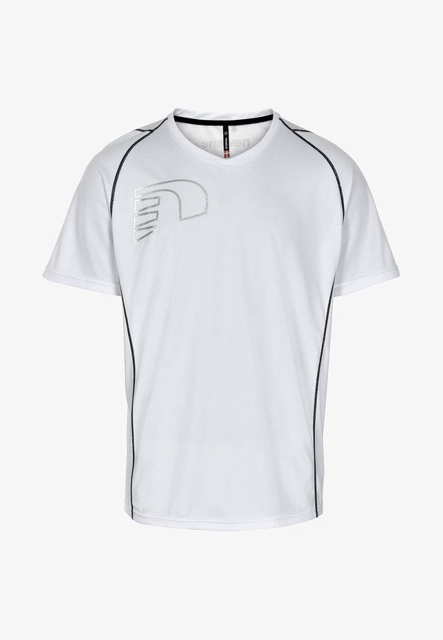 CORE COOLSKIN - T-shirt imprimé - white