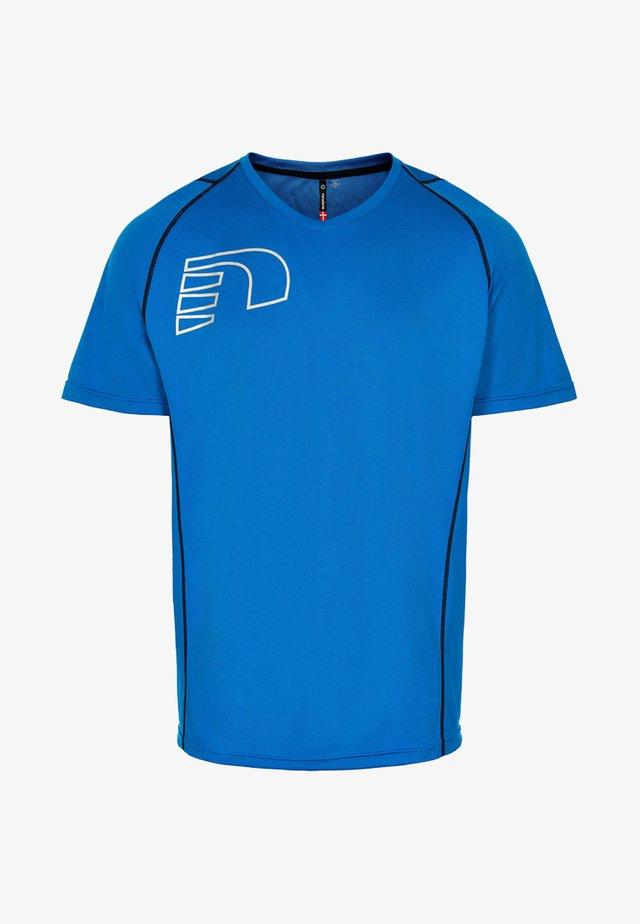 CORE COOLSKIN - T-shirt imprimé - blue