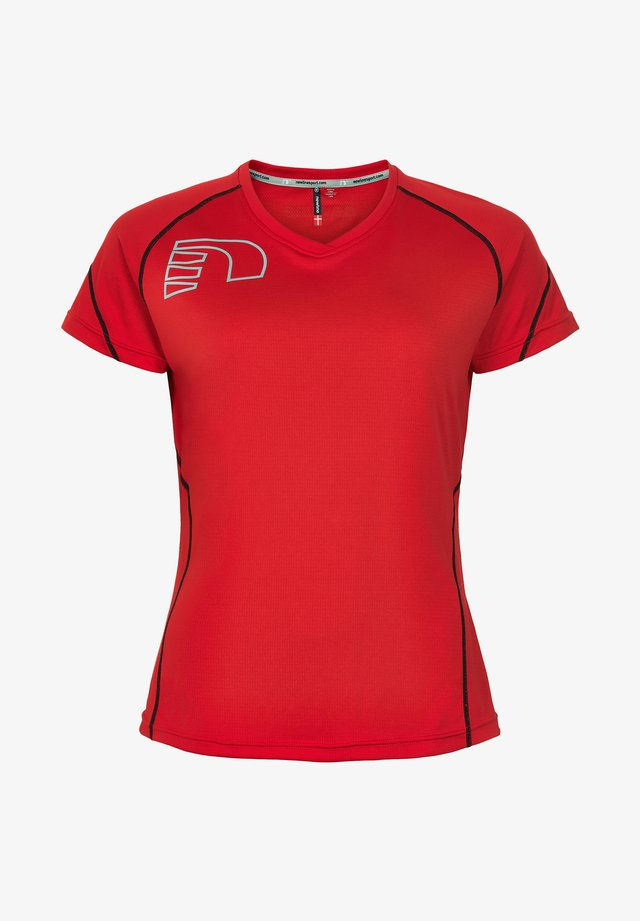 CORE COOLSKIN TEE - T-shirt sportiva - red