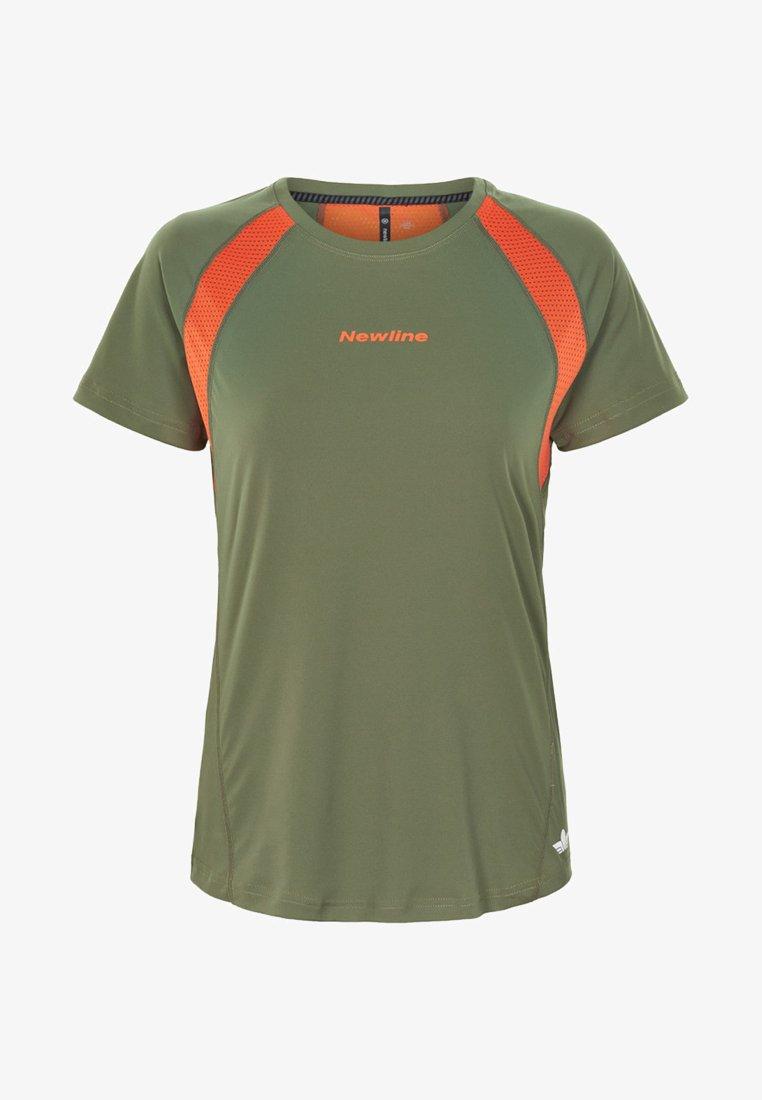 Newline - T-shirt print - green