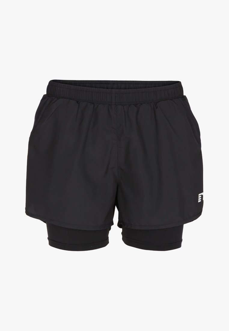 Newline - BASE 2 LAYER  - Sports shorts - black