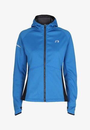 BASE WARM UP - Sports jacket - blue