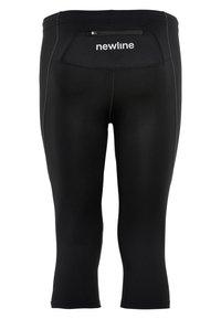 Newline - BASE DRY N COMFORT - 3/4 sports trousers - black - 1