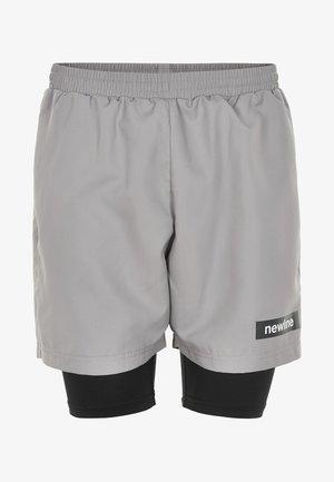 2 LAY  - Sports shorts - grey