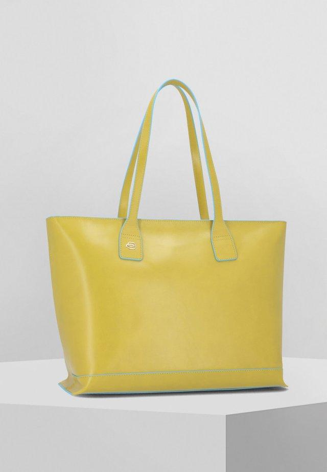 SQUARE - Shopping Bag - lemon yellow