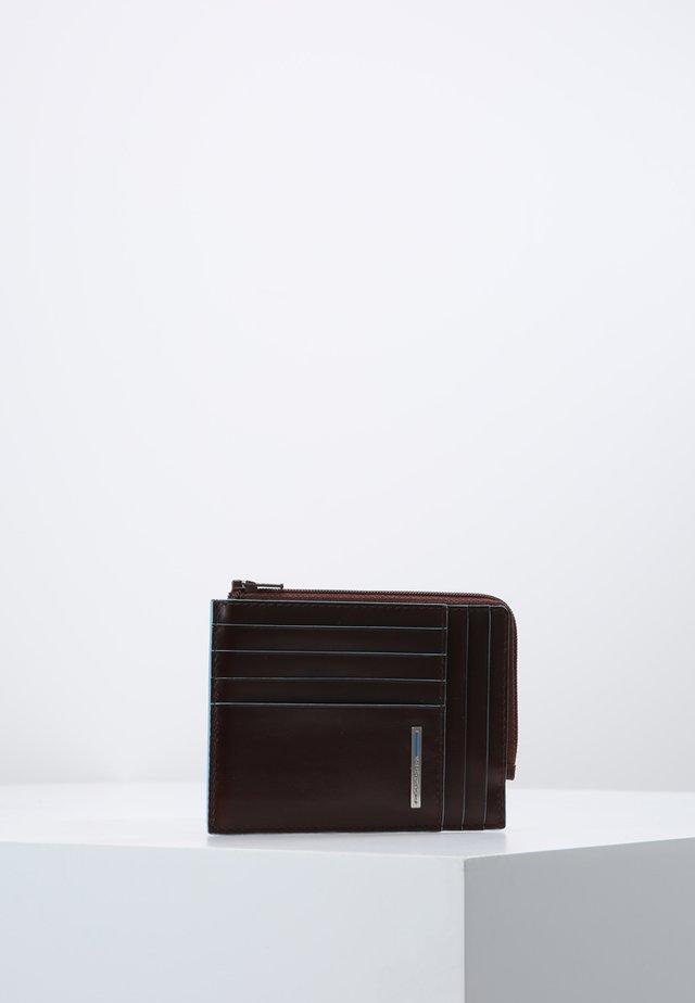 SQUARE ZIP WALLET - Geldbörse - mahogany