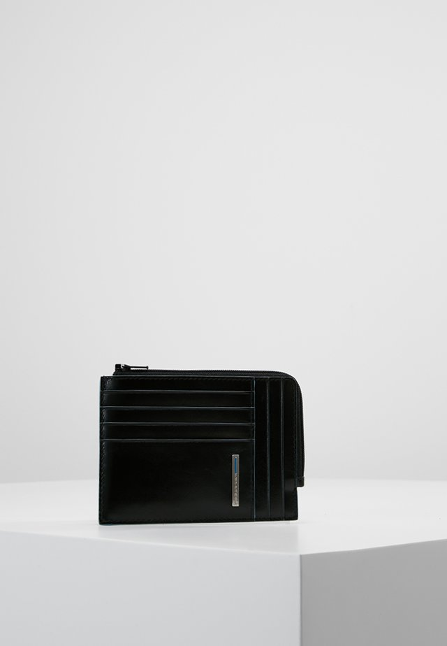 SQUARE ZIP WALLET - Geldbörse - black