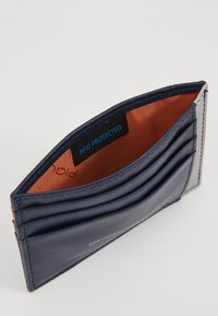 Piquadro - POCKET CREDIT CARD POUCH - Lommebok - navy/grey - 5