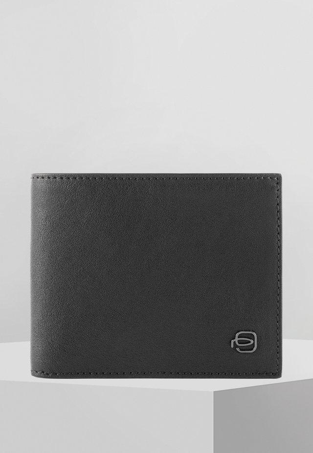 PIQUADRO BLACK SQUARE GELDBÖRSE LEDER 11 CM - Wallet - black