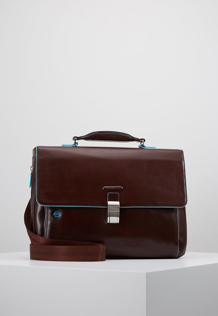 Piquadro - BRIEFCASE WITH FLAP - Notebooktasche - moro