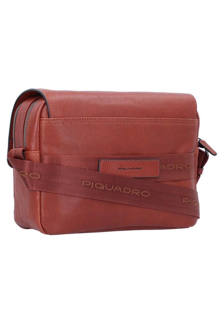 Piquadro SQUARE - Borsa a tracolla - brown