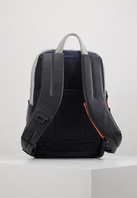 Piquadro - URBAN BACKPACK - Reppu - navy/grey