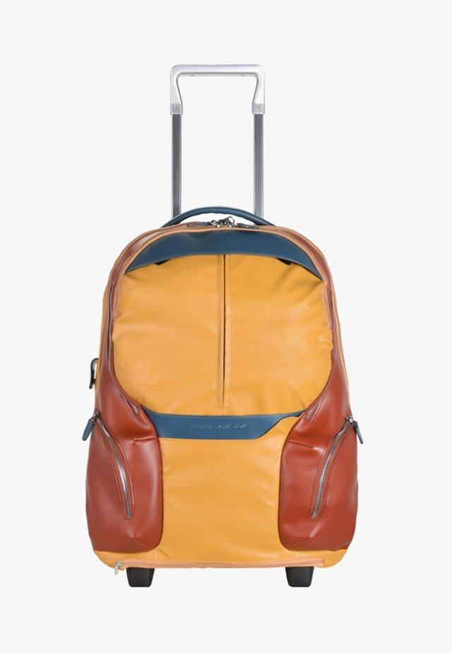 ROLLEN KABINENTROLLEY - Wheeled suitcase - yellow