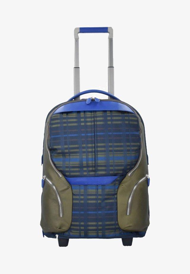 ROLLEN KABINENTROLLEY - Wheeled suitcase - blue
