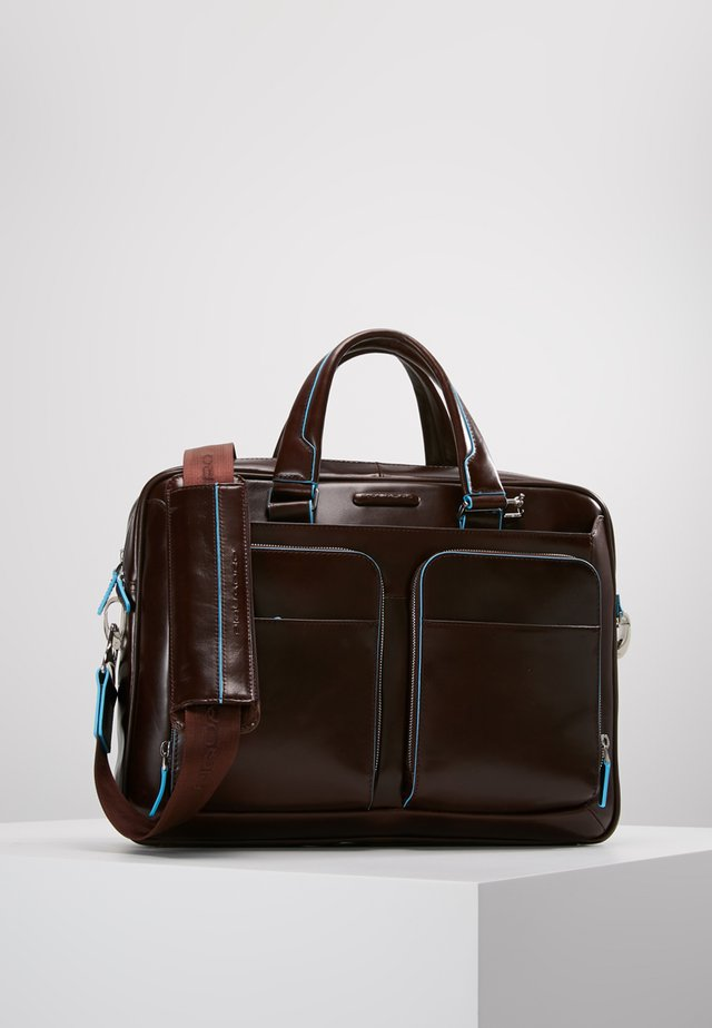 BLUE SQUARE - Briefcase - dunkelbraun