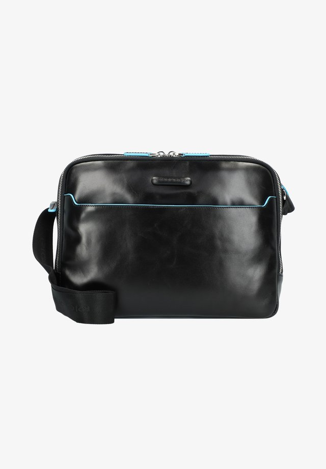 BLUE SQUARE - Briefcase - black