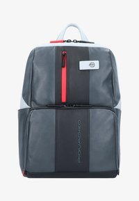 Piquadro - URBAN BUSINESSRUCKSACK LEDER 39 CM LAPTOPFACH - Reppu - grey black - 1
