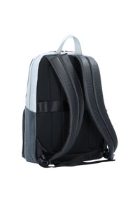 Piquadro - URBAN BUSINESSRUCKSACK LEDER 39 CM LAPTOPFACH - Reppu - grey black - 2
