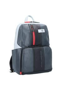 Piquadro - URBAN BUSINESSRUCKSACK LEDER 39 CM LAPTOPFACH - Reppu - grey black - 3