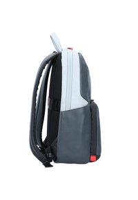 Piquadro - URBAN BUSINESSRUCKSACK LEDER 39 CM LAPTOPFACH - Reppu - grey black - 4