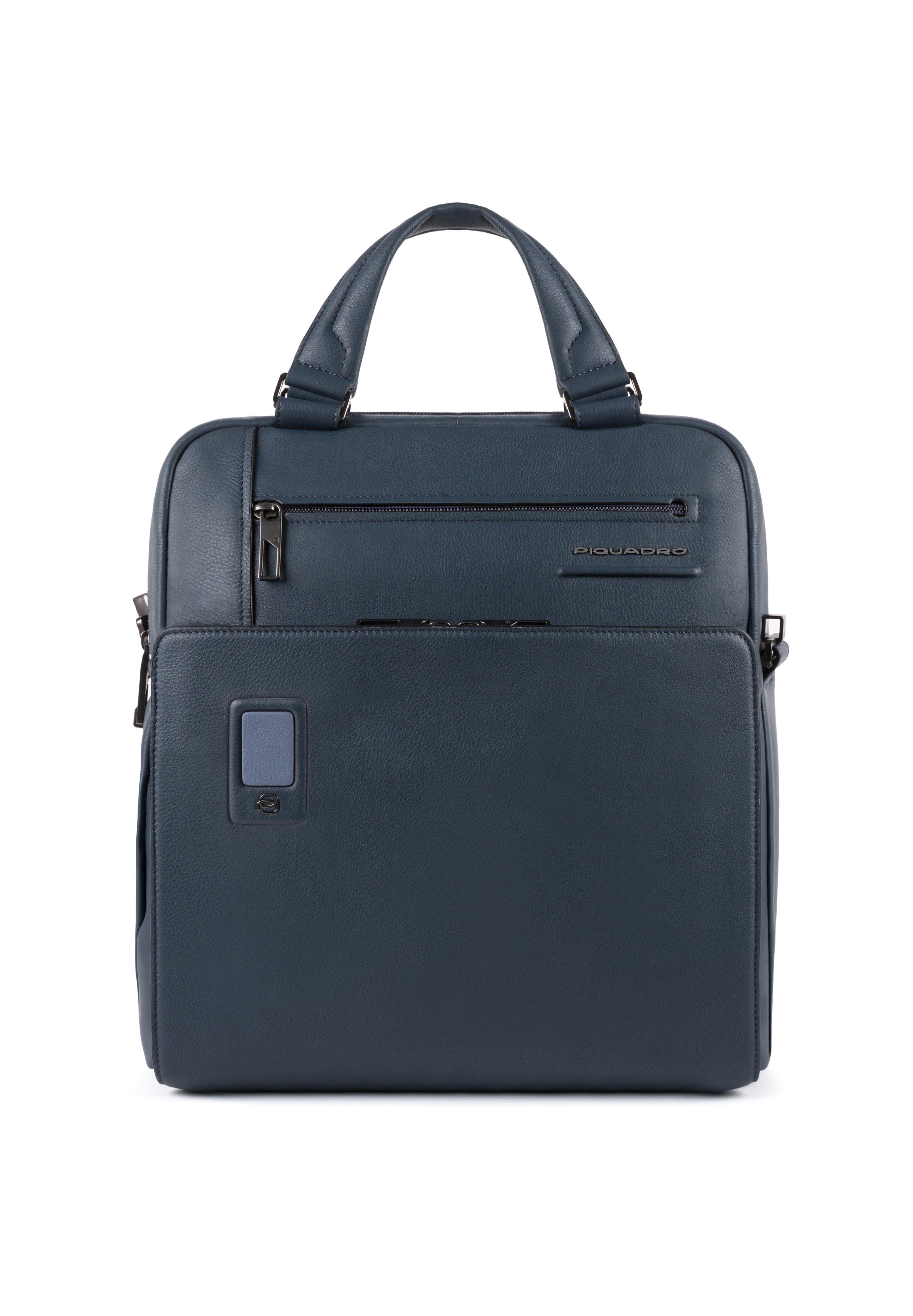 Piquadro Akron Laptoptasche Leder 33 Cm Laptopfach - Rugzak Blue rggnijG