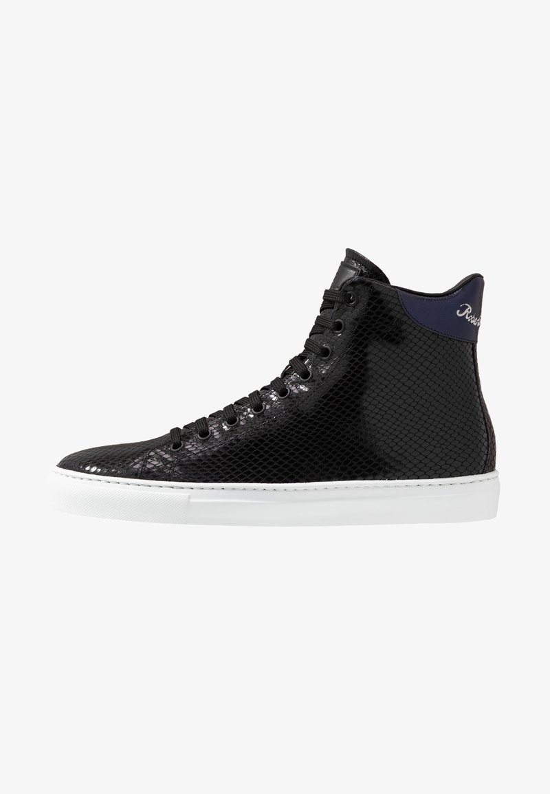 Roberto Cavalli - High-top trainers - black/purple