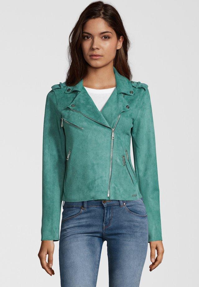 BALOU - Faux leather jacket - green