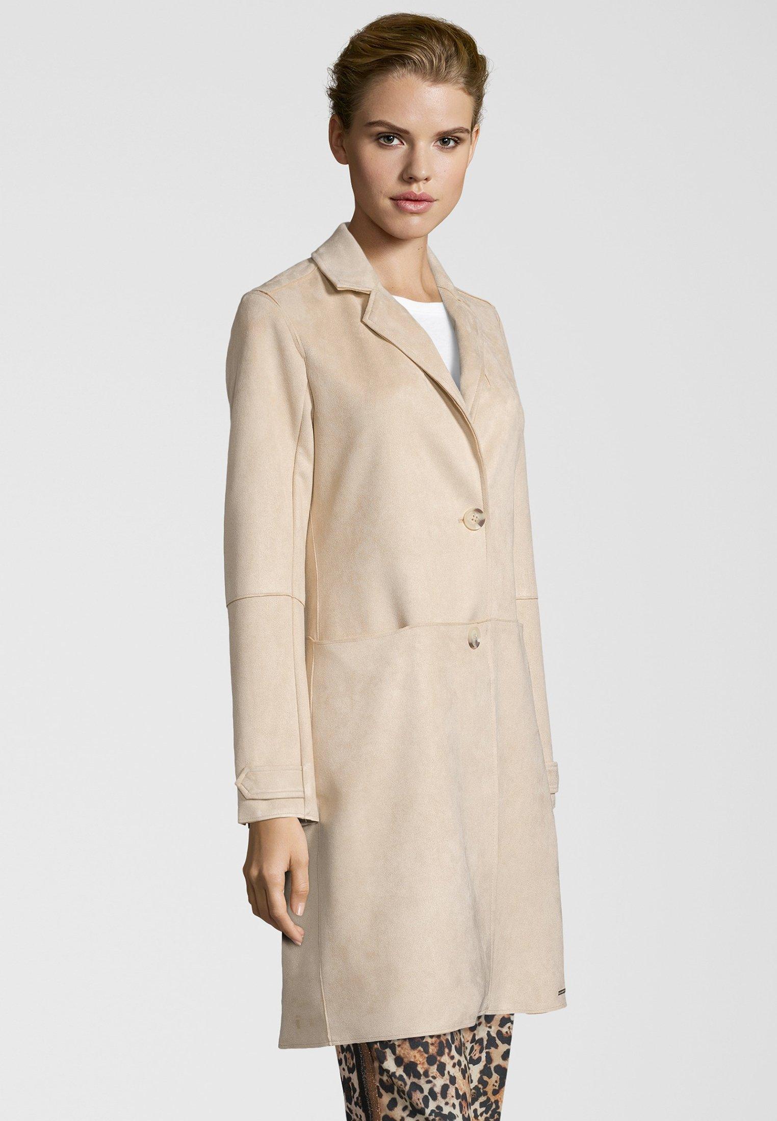 Rino&pelle Mantel Babice - Short Coat Sand