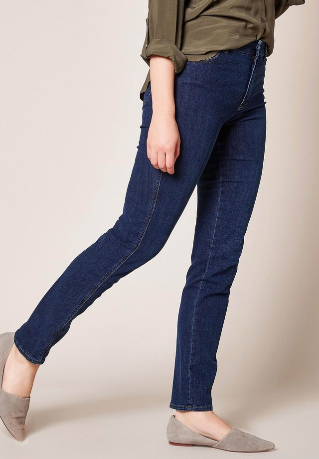 AUDREY - Slim fit jeans - 371 midblue