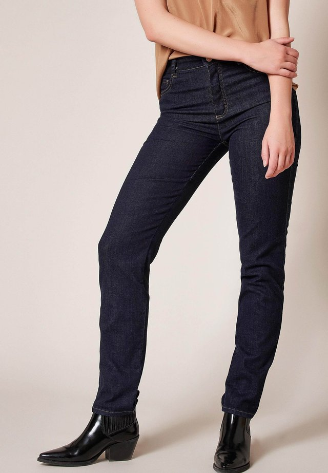 AUDREY - Slim fit jeans - 390 dark blue denim