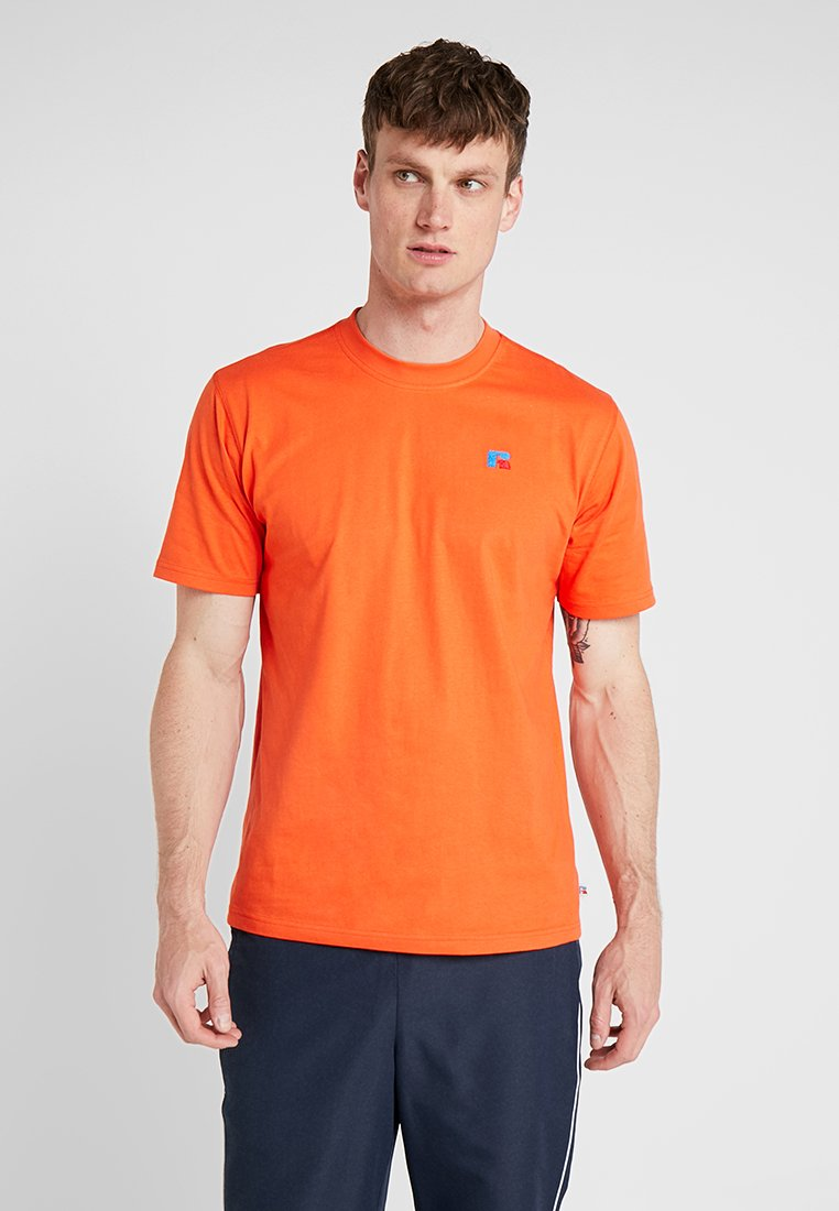 Russell Athletic - BASELINERS  AUTHENTIC  - Basic T-shirt - cherry tomato