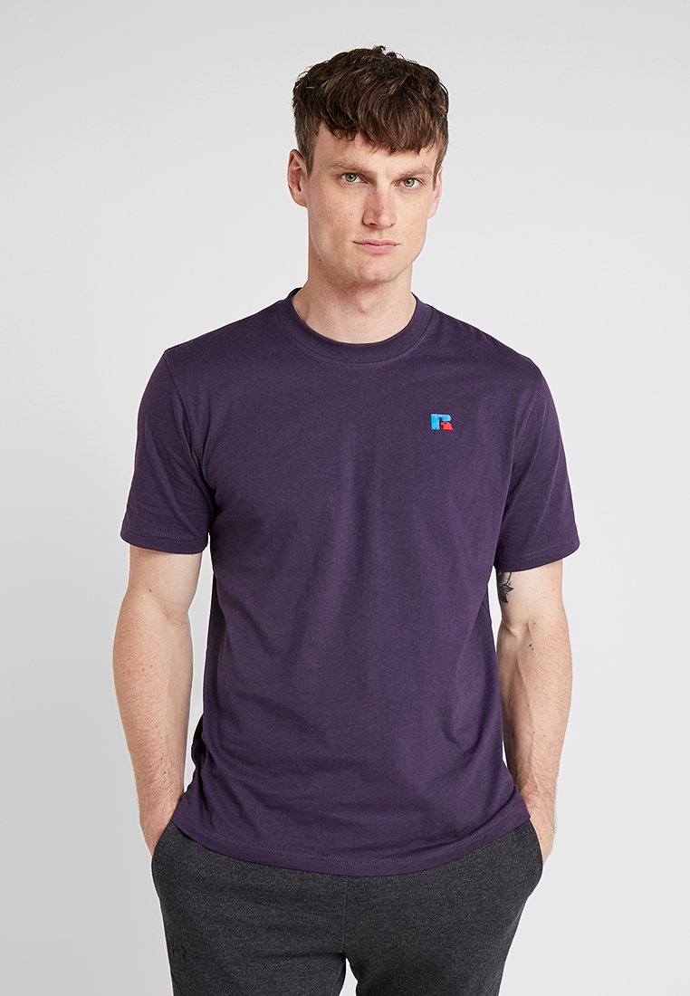 Russell Athletic - BASELINERS  AUTHENTIC  - Basic T-shirt - mottled lilac