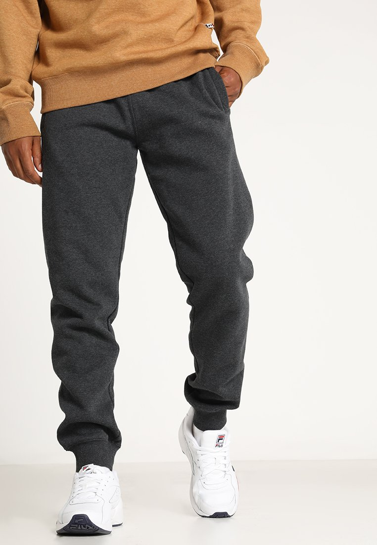 Russell Athletic - SEAMLESS FLOCK PRINTED CUFFED PANT - Jogginghose - charcoal/marl