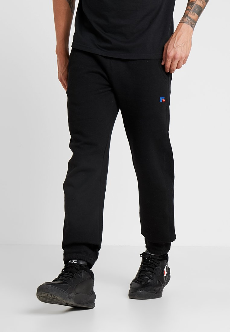 Russell Athletic - ROGER RELAXED ELATICATED FIT PANT - Joggebukse - black