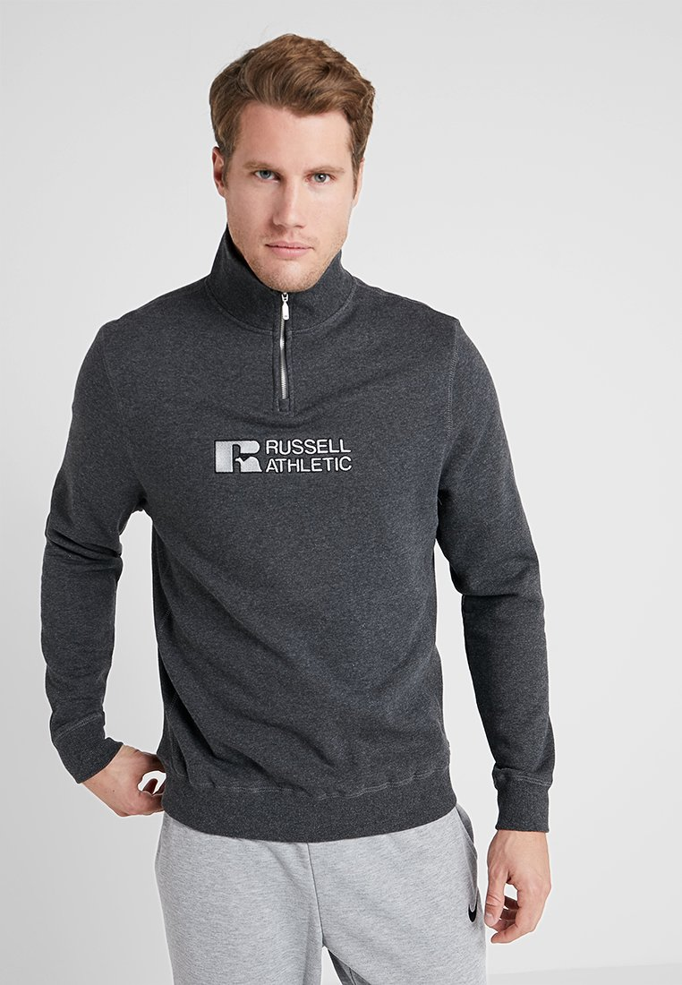 Russell Athletic - ATMOSPHERE CREWNECK - Sweatshirt - charcoal marl