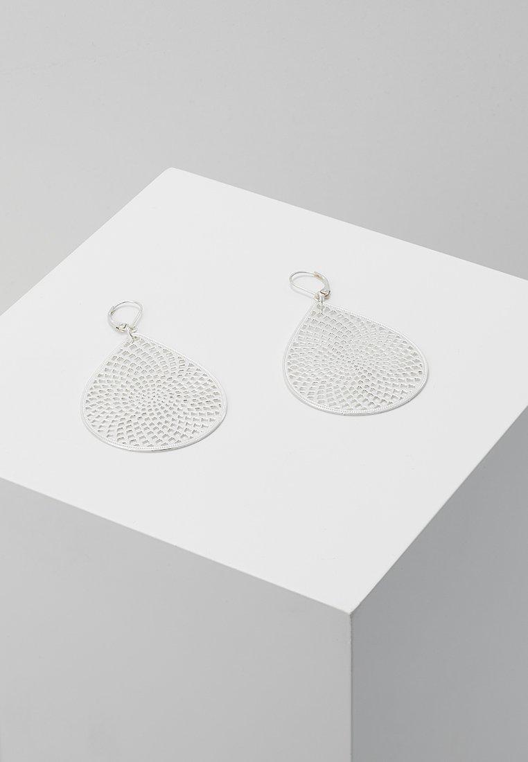 SNÖ of Sweden - JACQUELINE BIG PENDANT EAR - Ohrringe - plain