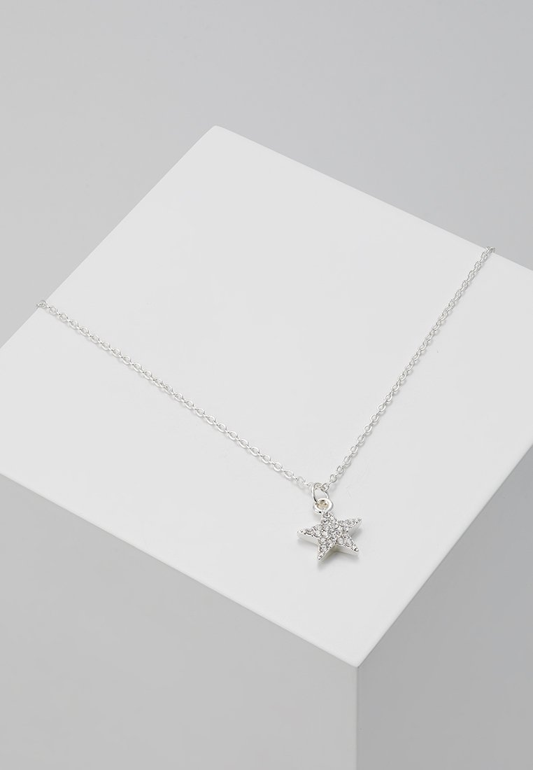 SNÖ of Sweden - STAR PENDANT - Necklace - silver-coloured