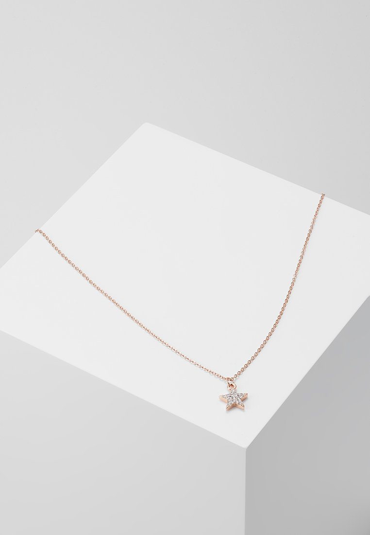 SNÖ of Sweden - STAR PENDANT - Halskette - rose/clear