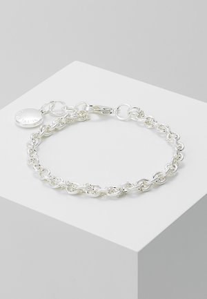 SPIKE SMALL BRACE - Pulsera - plain silver-coloured