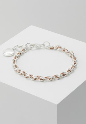 SPIKE SMALL BRACE - Bransoletka - silver-coloured/roségold